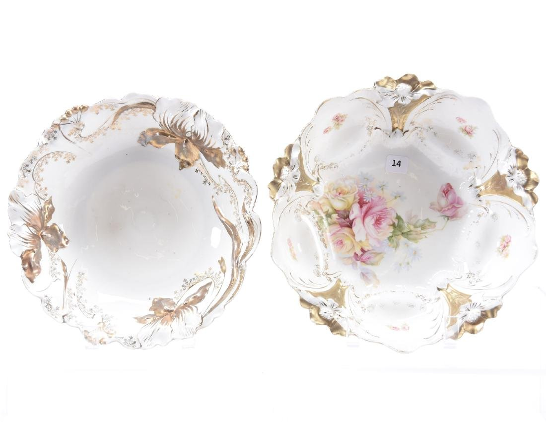 (2) Bowls, Unmarked Prussia