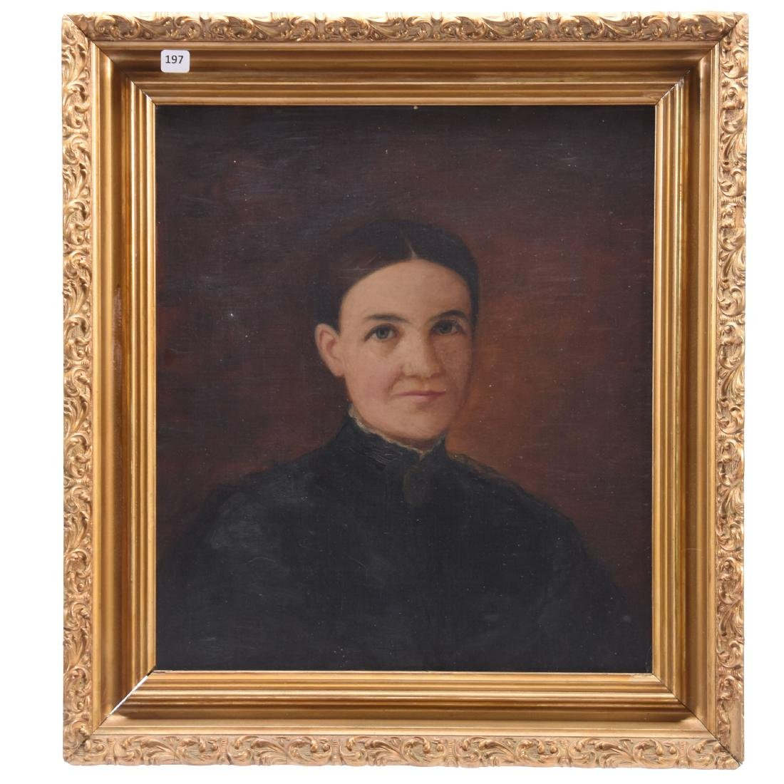 Oil Painting on Canvas, Woman