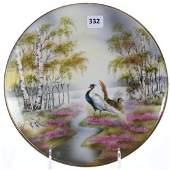 Plate, Marked R.S. Germany, Pheasant Scene