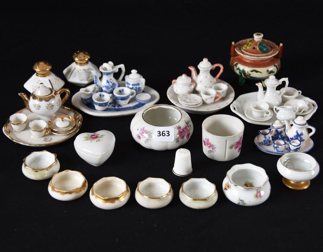 Assorted Porcelain Items