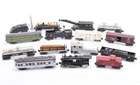"""Train Set & Vintage Steamer Trunk, Lionel, """"O"""" Gauge"""