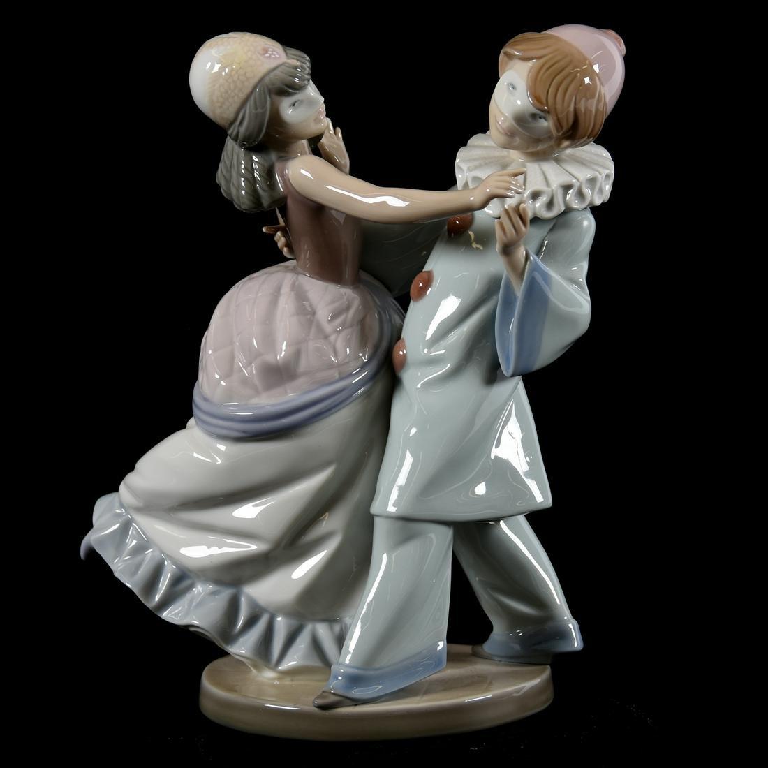 "Lladro #5452 ""Masquerade Ball"" Figural Group"