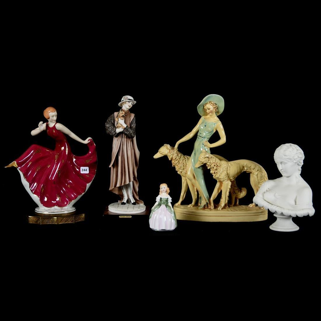 (5) Female Figurines