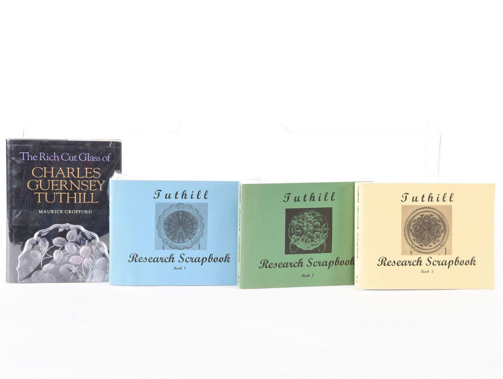 (4) Books, Tuthill Cut Glass