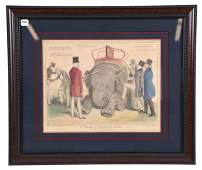 1844 Lithograph Hand Colored by John Doyle