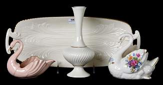 (4) Lenox porcelain items