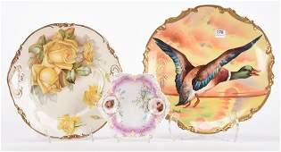 (3) Porcelain items