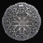Bowl, American Brilliant Cut Glass