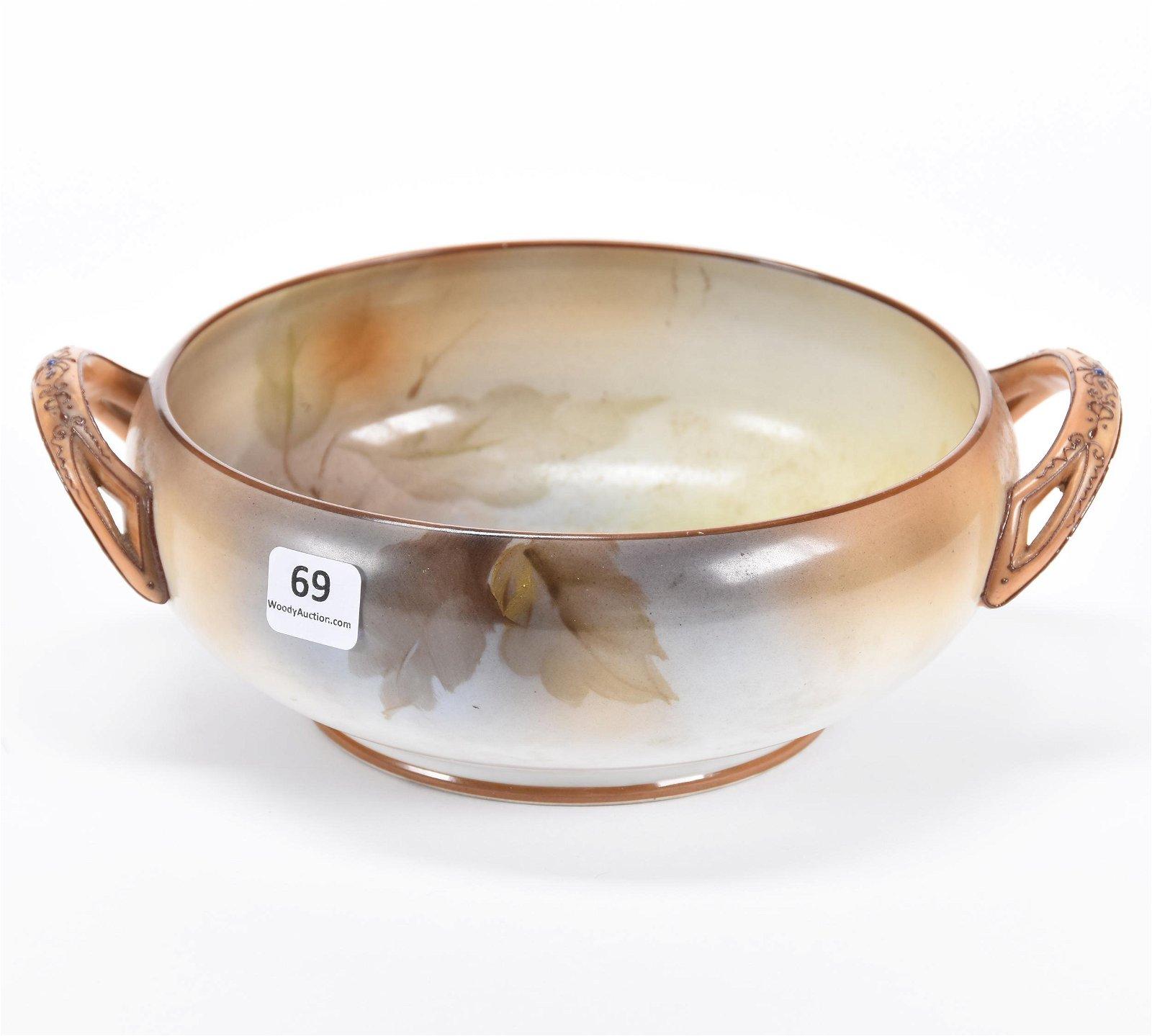 Two-Handled Bowl, Noritake Blown Mold