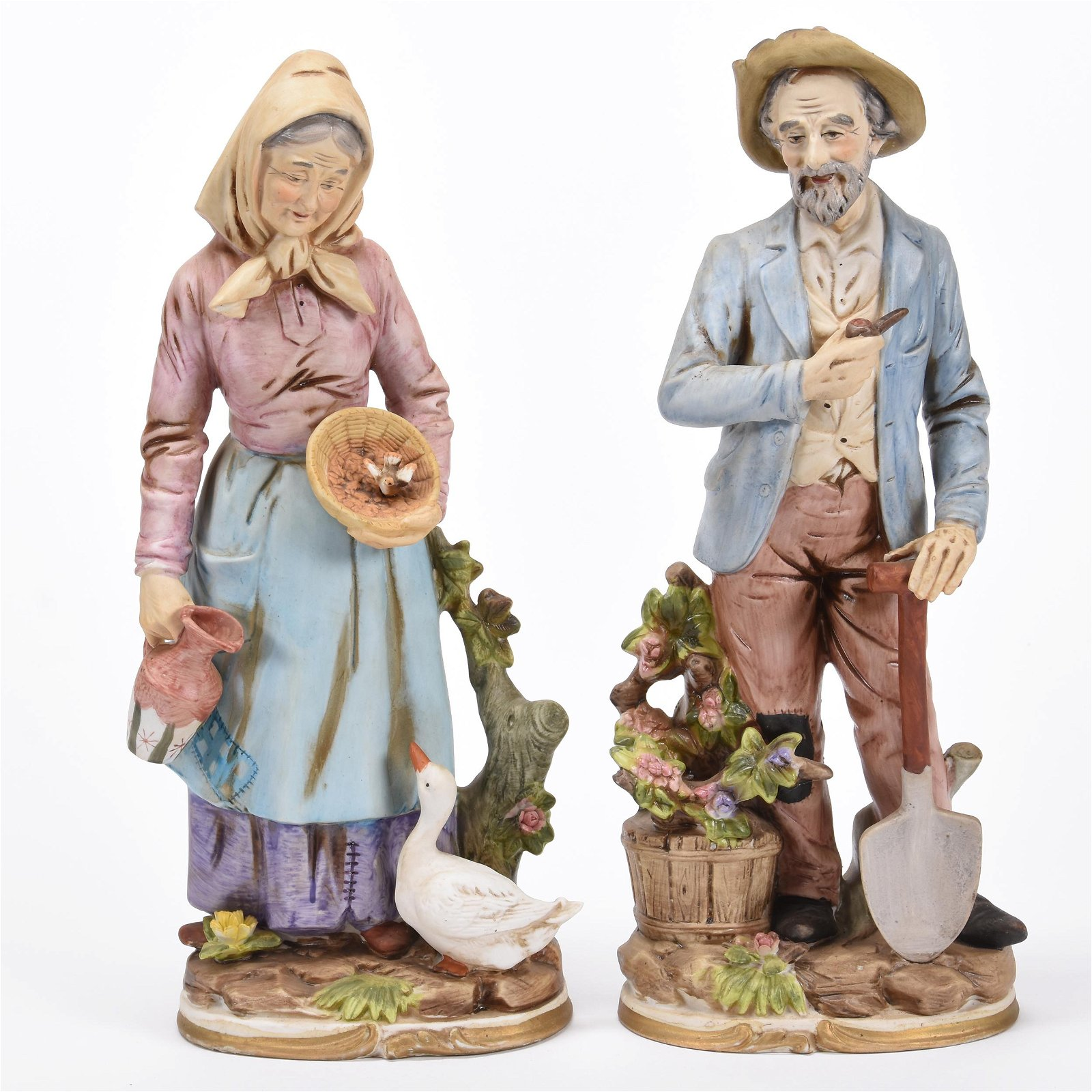 Modern Bisque Figurines