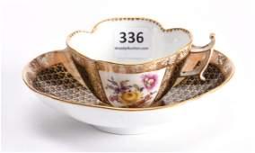 "Cup & Saucer, Meissen ""AR"" Mark"