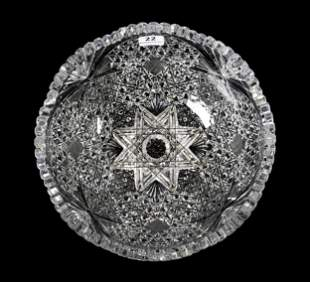 Bowl, ABCG, Unique Artistic Concave Design
