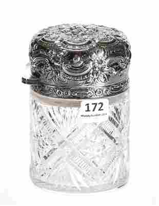 Salts Bottle, ABCG, Signora Pattern By J. Hoare