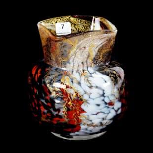 Vase, Ernest Baptiste Leveille Art Glass