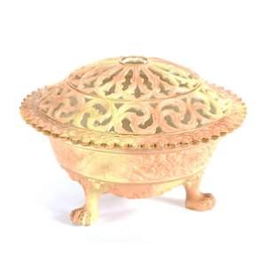 Footed Bowl, Reticulated Marked Royal Worcester #846