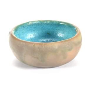 Bowl, Marked Pewabic Detroit Art Pottery