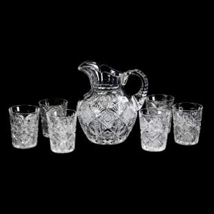 Water Set, ABCG, Navarre Pattern by Hawkes
