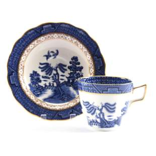 Cup & Saucer Marked Royal Doulton Booths