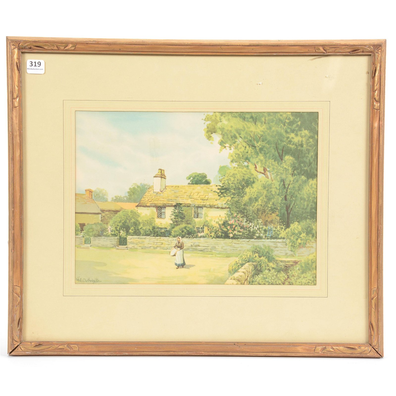 Original Watercolor by William Outhwaite (?-1938)