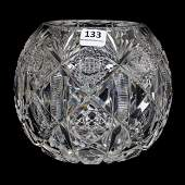 Rose Bowl, ABCG, Signed Hawkes Navarre Pattern