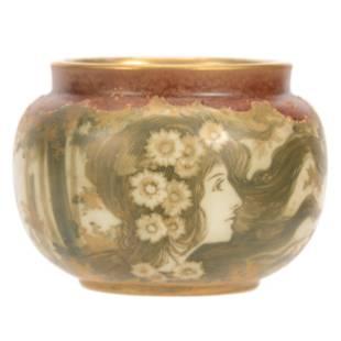 Vase Marked Teplitz Amphora