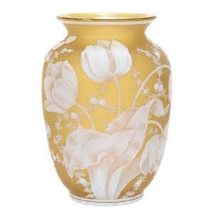 Vase, English Cameo Attributed to Thomas Webb & Sons