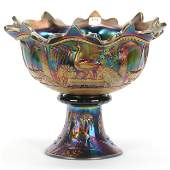 Punch Bowl Carnival Glass by Northwood