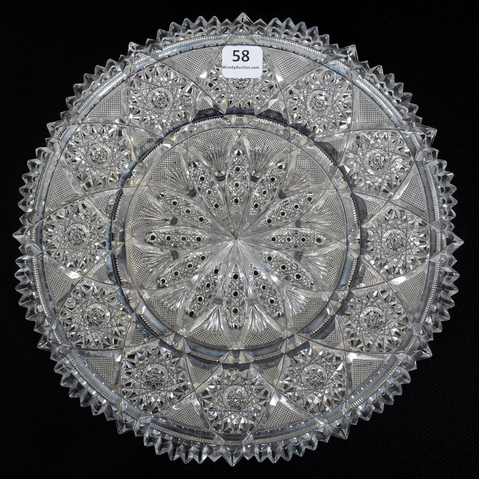 Round Tray, ABCG, Signed Tuthill Rex Pattern