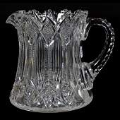 Cider Pitcher, ABCG, Signed Hawkes Brunswick Pattern