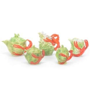 (5) Lobster & Lettuce Leaf, Royal Bayreuth