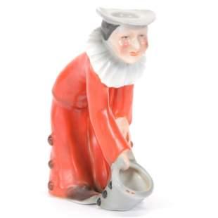 Candlestick/Match Holder Royal Bayreuth Red Clown