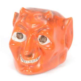 Match Holder, Royal Bayreuth Style Devil's Head