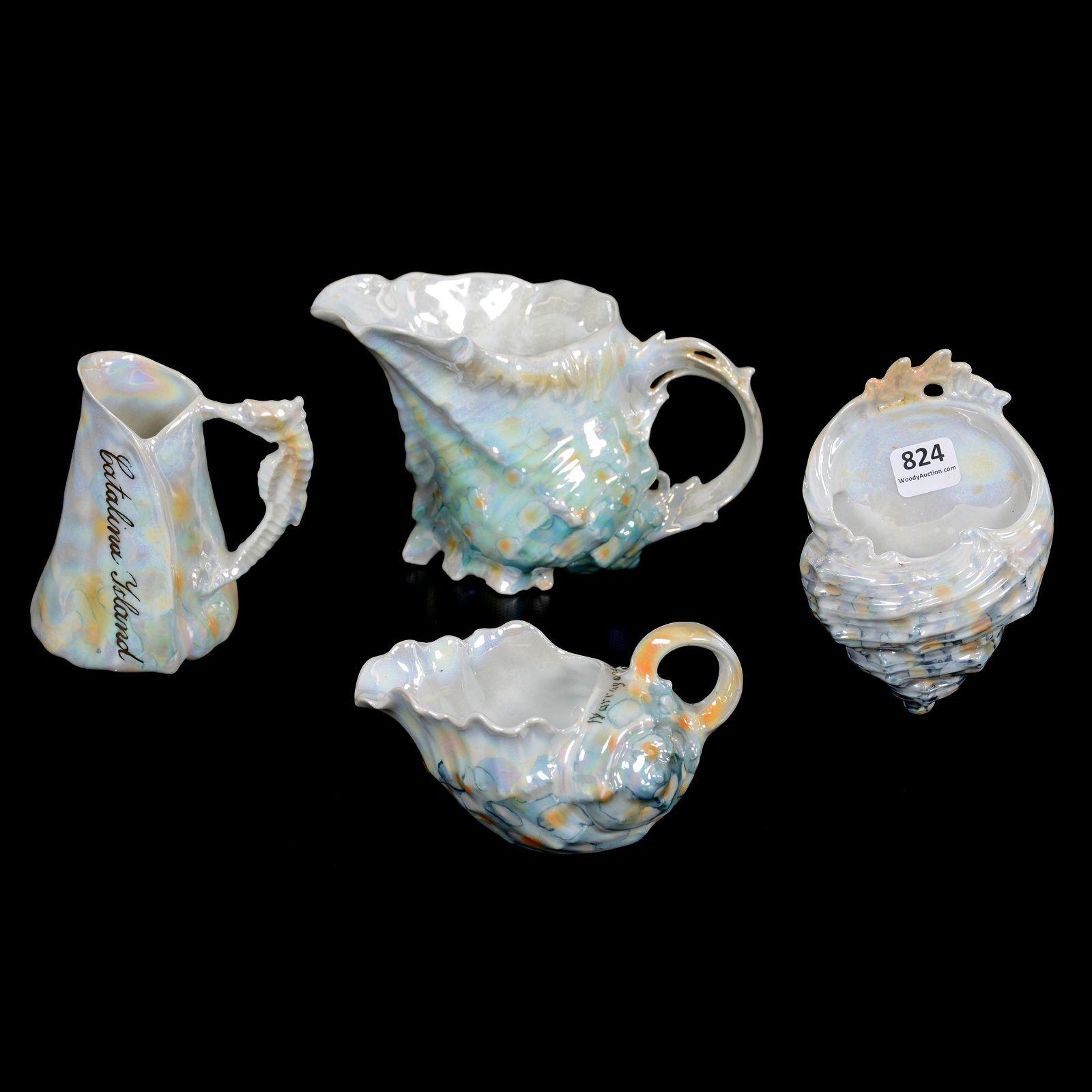 (4) Royal Bayreuth Shell Items