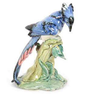 Magpie Jay Figure Marked Stangl Pottery #3758