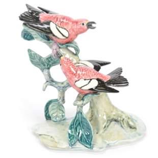 Bird Figure Marked Stangl Pottery #3754D