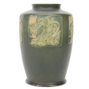 Vase, Roseville Art Pottery Ink Mark