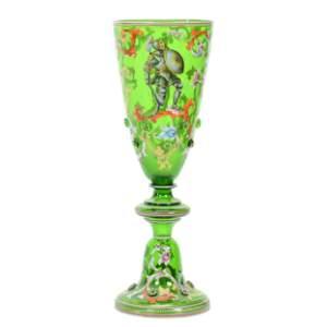 Vase, German Neo-Renaissance Art Glass