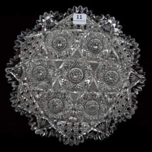 Plate, ABCG, Huyler Pattern By Clark