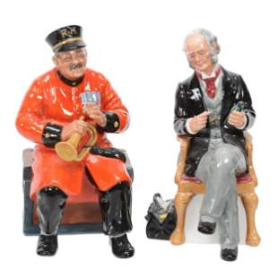 (2) Royal Doulton Figurines