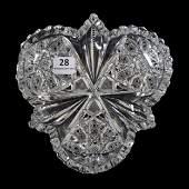 Bon-Bon, American Brilliant Cut Glass