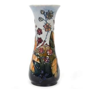 Vase Marked Moorcroft English Art Pottery