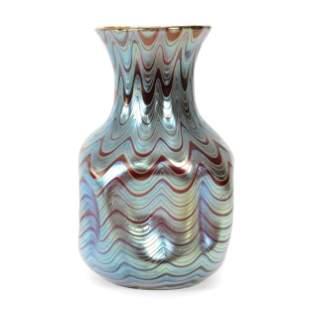 Vase, Unmarked Loetz PG 6893 Art Glass
