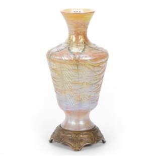 Vase, Unmarked Durand Art Glass