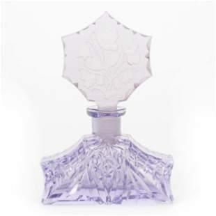 Perfume Bottle, Unmarked Czechoslovakia