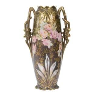 Vase Marked Royal Vienna, Iridescent Tiffany Finish