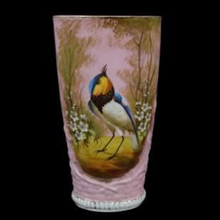 Vase, Unmarked Old Paris Porcelain