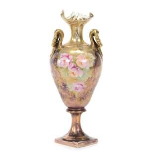 Pedestal Vase, Unmarked Royal Vienna