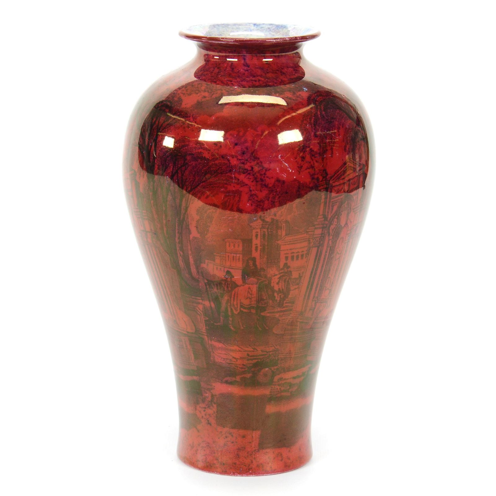 Vase Marked Stoke On Trent Wilton Ware
