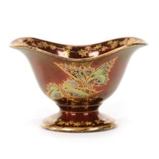 Bowl Marked Devon Sylvan Lustre Ware
