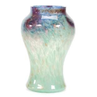 Vase, Monart Art Glass, Circa 1930's